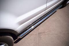Пороги труба D63 (вариант 1) для Land Rover Range Rover Evoque Dynamic 2011-