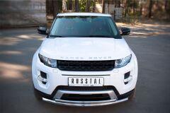 Защита переднего бампера D63/42 (дуга) для Land Rover Range Rover Evoque Dynamic 2011-