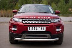 Защита переднего бампера D76 (дуга) для Land Rover Range Rover Evoque Prestige u Pure 2011-