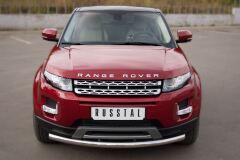 Защита переднего бампера D63 (дуга) для Land Rover Range Rover Evoque Prestige u Pure 2011-