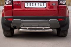 Защита заднего бампера D76/42 (дуга) для Land Rover Range Rover Evoque Prestige u Pure 2011-