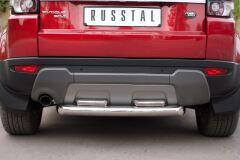 Защита заднего бампера D76/42X2 (дуга) для Land Rover Range Rover Evoque Prestige u Pure 2011-