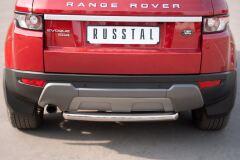 Защита заднего бампера D63 (дуга) для Land Rover Range Rover Evoque Prestige u Pure 2011-