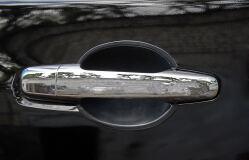 Вставки под наружные ручки дверей Mitsubishi L200 2007 - 2013