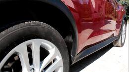 Подкрылки задние Nissan Juke (YF15), 2010 - 2014