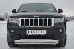 Защита переднего бампера D76/42 (дуга) для Jeep Grand Cherokee 2012