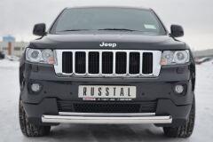 Защита переднего бампера D76 (дуга) для Jeep Grand Cherokee 2012