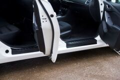 Накладки на внутренние пороги дверей Mazda 6 2012 - 2018