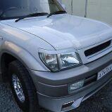 Реснички (накладки) на фары Toyota Land Cruiser Prado J90