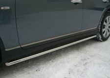 Пороги труба D42 для Infiniti EX35 2007-