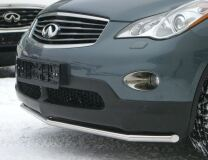 Защита переднего бампера D42 для Infiniti EX35 2007-