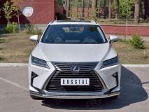 Защита переднего бампера D63 секция-D42 дуга для Lexus RX200t 2015-