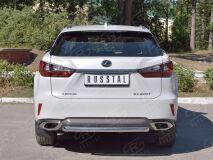 Защита заднего бампера D63 дуга для Lexus RX200t 2015-