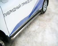 Пороги труба D76 для Lexus RX 270/350/450 2009-