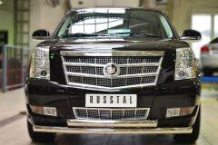 Защита переднего бампера D76 (дуга) D76 (дуга) для Cadillac Escalade 2007-2015