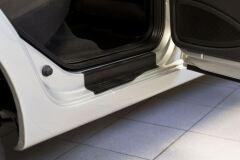 Накладки на внутренние пороги дверей Datsun on-DO 2014-, mi-DO 2014-, Lada Kalina, Lada Granta (лифтбек/седан)