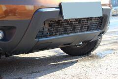 Накладка переднего бампера (аэродинамический обвес) 2 мм БЕЗ ПОКРЫТИЯ Renault Duster 2010-2014