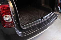 Защита заднего бампера 2 мм Renault Duster 2010-2014