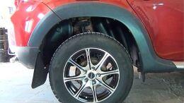 Подкрылки задние Renault Duster 2010-2014