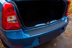 Накладка на задний бампер Renault Logan 2010-2013