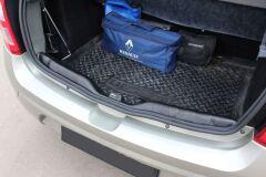 Накладка на порожек багажника Renault Sandero 2009-2013