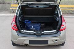 Защита заднего бампера Renault Sandero Stepway 2009-2013