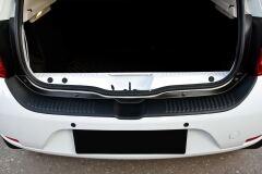 Защита заднего бампера Renault Sandero 2014-