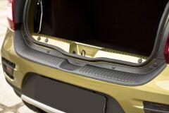 Защита заднего бампера Renault Sandero Stepway II 2014-2018 (дорестайлинг)