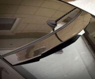 Накладка на заднее стекло (козырек) для Kia Rio III от 2011 г.в.