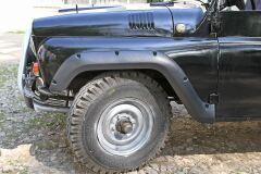 Расширители колесных арок Uaz Hunter, Uaz 469 1972-2011 ГЛЯНЕЦ (ПОД ПОКРАСКУ)