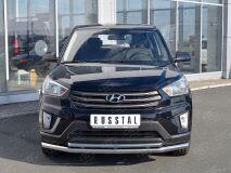 Защита переднего бампера D63 секция-D42 дуга для Hyundai Creta 2016-