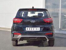 Защита заднего бампера D42 волна под машину для Hyundai Creta 2016-