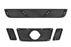 Защитная сетка решетки радиатора и решетки переднего бампера Nissan Pathfinder 2011-2013 (R51 рестайлинг)