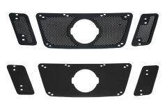 Защитная сетка и заглушка решетки радиатора Nissan Pathfinder 2011-2013 (R51 рестайлинг)