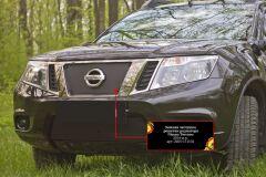 Зимняя заглушка решетки радиатора Nissan Terrano 2014-2015