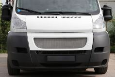 Решётка радиатора с МЕТАЛЛИЧЕСКОЙ сеткой Citroen Jumper Шасси 2006-2013,  Jumper 2006-2013 (250 кузов)