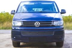 Защитная сетка решетки переднего бампера Volkswagen Multivan (T5 рестайлинг) 2009-2015, Transporter (T5 рестайлинг) 2009-2015