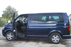 Накладки на внутренние пороги передних дверей Volkswagen Multivan, Transporter, Caravelle (T5) 2009-2015, Multivan, Transporter, Caravelle (T6) 2015-2019