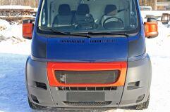 Комплект для самостоятельного изготовления накладок на фары PeugeotBoxer (шасси) 2006-2013, Peugeot Boxer 2006-2013, Citroen  Jumper (шасси) 2006-2013, Citroen Jumper 2006-2013, FiatDucato (шасси) 2012-2013, Fiat Ducato 2012-2013