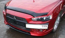 абс ПОДИУМ НОМЕРА в стиле ЭВО для Mitsubishi Lancer 10 2007-2011 дорестайлинг