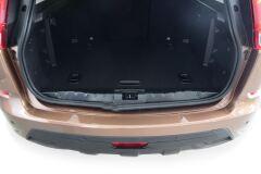 Накладка в проём багажника (Чёрное тиснение) (ABS) LADA XRAY 2016-