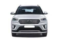 Защита переднего бампера одинарная 63 мм (НПС) Hyundai Creta 2016-
