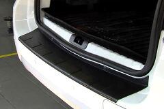 Накладка на задний бампер (чёрное тиснение) (ABS) NISSAN TERRANO 2014-