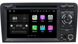 Штатная магнитола Carmedia KD-7037-P3-7 для AUDI A3/S3/RS3 2003-2011 на Android 7.1