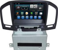 Штатная магнитола Carmedia KR-8035-T8-bl для Opel Insignia 2009-2013 дорестайл, взамен CD300 и CD400, черный на Android 7