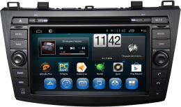 Штатная магнитола Carmedia KR-8018-T8 для Mazda 3 2009-2013 (BL), Axela 2009-2013 на Android 7