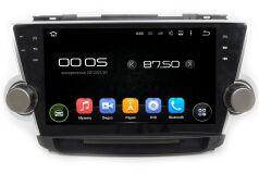 Штатная магнитола Carmedia KDO-1037 для Toyota Highlander 2007-2013 U40 на Android 8