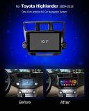 Штатная магнитола Carmedia OL-1616 для Toyota Highlander 2007-2013 U40 на Android 6