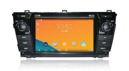 Штатная магнитола Carmedia DT-3258 для Toyota COROLLA 2013+ на Android 4