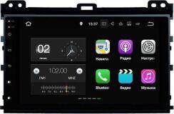 Штатная магнитола Carmedia KD-9026-P3-7 для Toyota Land Cruiser Prado 120 2002-2009 на Android 7